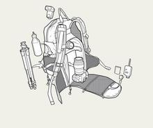 BURTON ZOOM PACK 11031104307 双肩背包